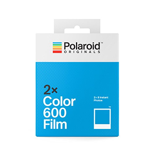 Polaroid Originals 4841 - Paquete Doble película Color para 600 y i-Type cámara, Color Blanco