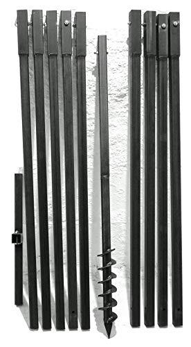 MWS-Apel 70 mm 10 Meter Erdbohrer Brunnenbohrer Handerdbohrer Erdlochbohrer Brunnenbau Pfahlbohrer brunnenbohrgerät
