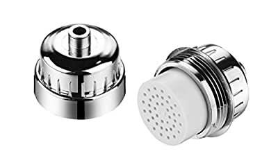 HOTEL SPA - Shower Filter for High Pressure Shower Head - 2-Stage Shower Head Filter for Hard Water - Fits Filter Shower Head Model 1126 and Hotel Spa Shower System 1130, 6-Setting Handheld Showerhead