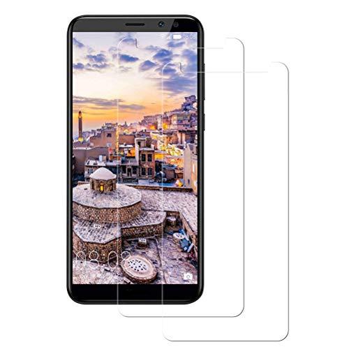 Mkej Vetro Temperato Huawei Mate 10 Lite Pellicola, [2 Pezzi] HD Alta Trasparenza Senza Bolla Pellicola Protettiva di Vetro, Screen Protector [Resistenza ai Graffi] 3D Copertura Vetro Protettivo