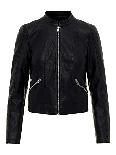 Vero Moda Vmkhloe Favo Faux Leather Jacket