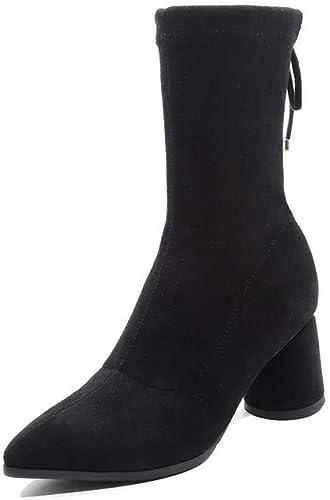 AdeeSu SXC03819, Sandales Compensées Femme - Noir Noir - Noir, 36.5 EU  vente au rabais