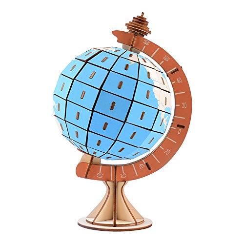Nikgic. 3D Puzzlespiele Zum Erwachsene Kinder Holzpuzzle Globus Puzzle Spaß pädagogisches Geschenk Zum Jungen Mädchen Geburtstag Party Festival Entspannung