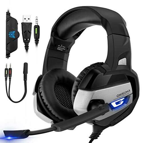 Mobestech ONIKUMA K5 - Auriculares para videojuegos