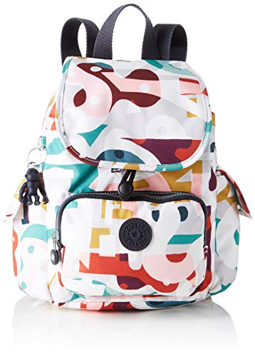 Kipling - City Pack Mini, Mochilas Mujer, Gris (Night Grey), 27x29x14 centimeters (B x H x T)
