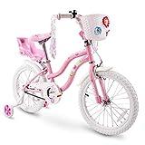 COEWSKE Kid's Bike Steel Frame Children Bicycle Little...