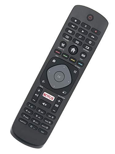 ALLIMITY Fernbedienung Ersetzen fit für Philips 4K UHD TV 65PUS6262/12 65PUS6262 43PUS6101/12 43PUS6101 43PUS6201 43PUT6101/60 43PUT6162/12 49PFS5301 49PFS5301/12 40PFK5709/12