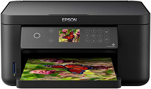 Epson Expression Home XP-5105 Print/Scan/Copy Wi-Fi Printer, Black, Amazon Dash Replenishment Ready