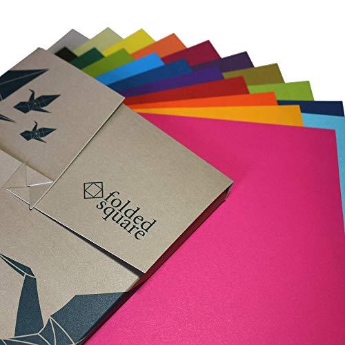 Conjunto de Regalo de 200 Hojas de Papel para papiroflexia de Colores Pantone - Colección de Origami Completa