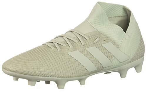 adidas Men's Nemeziz 18.3 Firm Ground Soccer Shoe, Zest/Black/Solar red, 10 M US