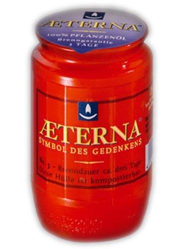 20er Pack Aeterna Grablichter Nr.3, rot
