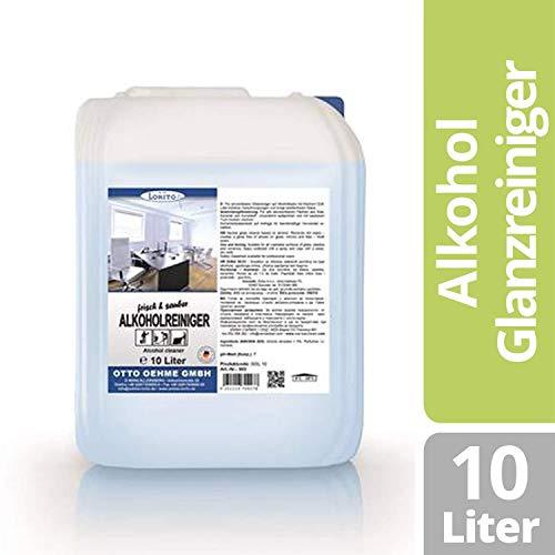 Lorito frisch & sauber, Alkoholreiniger zur Bodenreinigung, 10 Liter