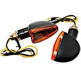 Intermitentes halógenos pequeños LED Mafia Arrow Moto Quad Custom Naranja ECE...