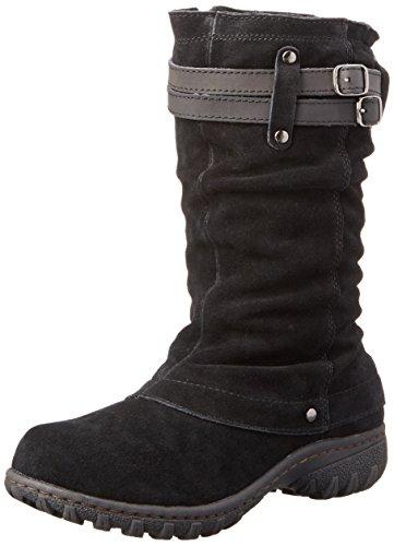 Khombu Women's Mallory Snow Boot, Black, 6 M US
