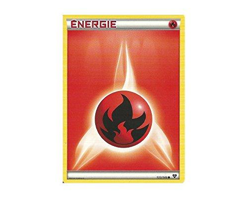 Carte Pokémon 133/146 ENERGIE FEU Série XY NEUVE FR - Jeu de cartes à jouer et à collectionner