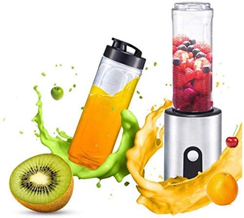 Juicer Machines, spremiagrumi portatile spremiagrumi elettrico baby alimenti frullati frutta spremiagrumi food grade maker macchina-metallo colore - estrattore multifunzione succo cibo UE 220 V, I fen