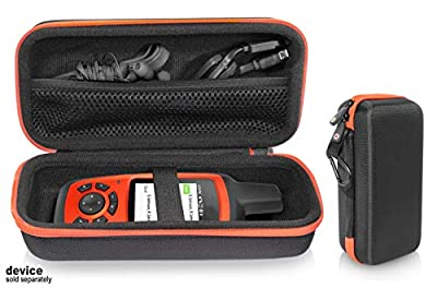 getgear GPS Unit Case for Garmin inReach Explorer+, Handheld Satellite Communicator, Built in mesh Accessory Pocket, Elastics Secure Strap