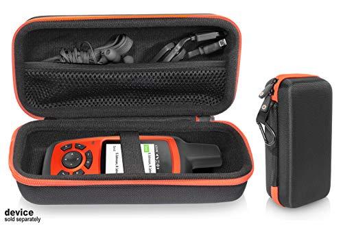 getgear GPS Unit Case for Garmin inReach Explorer+, Handheld Satellite Communicator, Built in mesh Accessory Pocket, Elastics Secure Strap