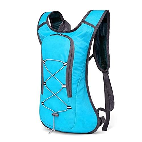 HNZZ Sac de vélo Respirant Ultraléger À Vélo Sac À Dos Sac Randonnée À Vélo Sac À Dos Sac 2L d'eau Vélo De Vélo Sac À Vélo (Color : Blue Only Bag)