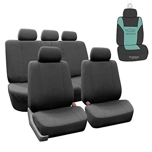 FH Group Multifunctional Flat Cloth Seat Covers