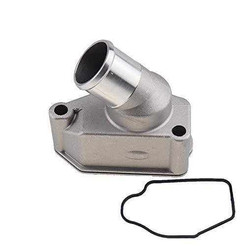 SSXPNJALQ Motor de Aluminio Caja termostato Refrigerante del radiador del Tubo de Agua en Forma for el Chevrolet Optra Suzuki Forenza Reno Nubira Daewoo Leganza