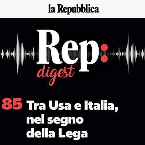 Tra Usa e Italia, nel segno della Lega copertina