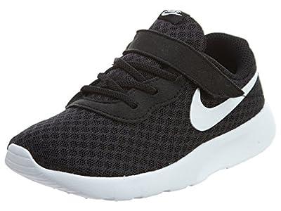 Nike Tanjun, Zapatillas Unisex niños, Blanco Black White White, 19.5 EU