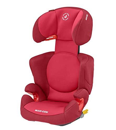 Maxi-Cosi Rodi XP FIX Kinderautositz, ISOFIX Booster Autositz, leicht, 3,5-12 Jahre, 15-36 kg, Basic Red