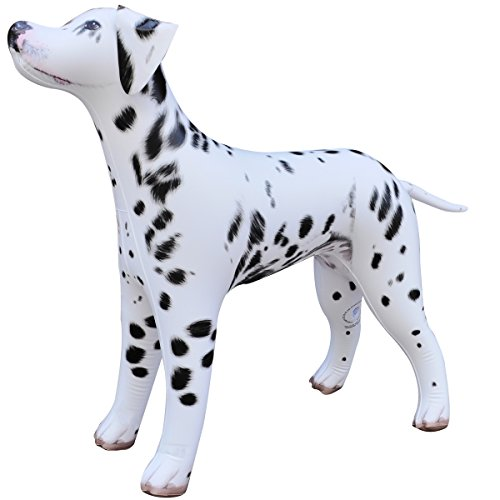 Jet Creations Inflatable Dalmatian Dog 39' Long Stuffed Animals Party Supplies An-DALM, Multicolor