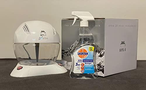 Hyla Aera Luftreiniger weiß + Desinfectant 500ml gratis