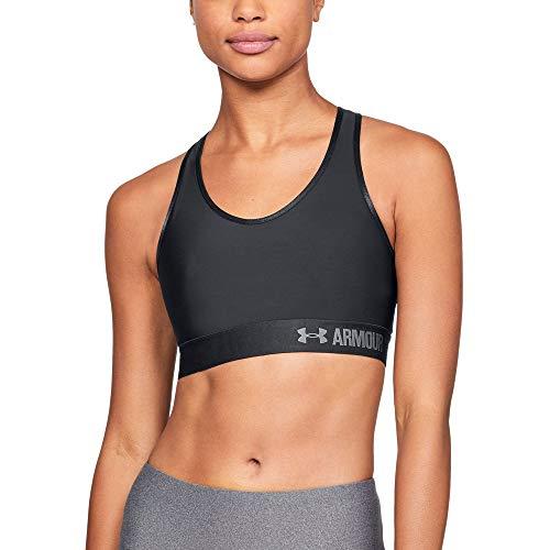 Under Armour Damen Fitness Bustier und Top, Blk, XS, 1273504-001