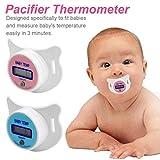 Baby Thermometer LCD Digital Kinder Mundnippel Schnuller Temperaturmessung Fieberthermometer