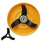 三陽金属(SANYO METAL) 刈払機用 畑のシェーバーDX (専用ブレード1枚増量セット)
