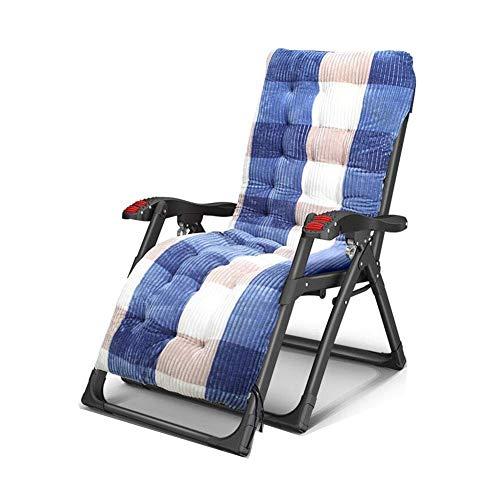 WJXBoos Silla plegable Tumbona reclinable Patio reclinable Reposabrazos Lazy Reposacabezas (color: T3)