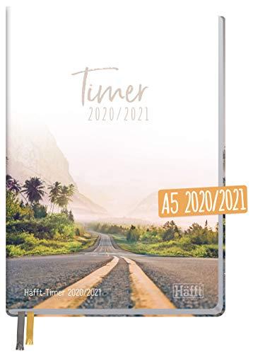 Häfft-Timer 2020/2021 A5 [Vanlife] Hardcover Schüler-Kalender, Schüler-Planer, Schulplaner, Semesterplaner für Oberstufe, Ausbildung oder Studium | nachhaltig & klimaneutral