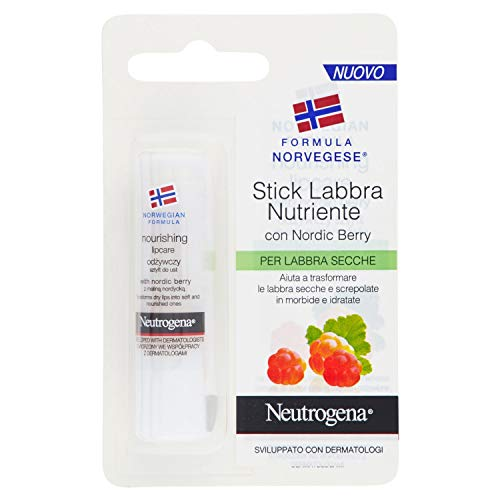 Neutrogena Norwegian Formula Nordic Berry Lip 4.8g - Lip Balm Lip Care -