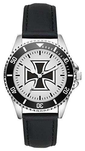 Soldat Geschenk Bundeswehr Artikel Eisernes Kreuz Uhr L-1137