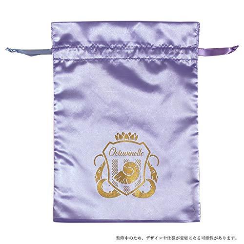【予約販売】ツイステッドワンダーランド サテン巾着 オクタヴィネル APDS5496_0