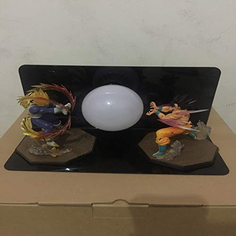 CXQ Dragon Ball Sun Wukong handgefertigte kreative Tischlampe führte Schreibtischlampe Auge Lampe leuchtendes Spielzeug kreatives Licht, Hand zwei optional 130 zu tun