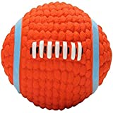 Durable Squeaky Dog Play Chew Fetch Ball Rugby Suit for Toy Interactive Fetch and Play Accessories