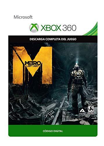 Metro: Last Light  | Xbox 360 - Código de descarga