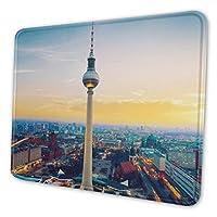 マウスパッド ゲーミング オフィス最適 ブランデンブルク門ベルリンドイツ 防水/疲労軽減/水洗い 滑り止め 耐久性が良い/高級感 おしゃれ