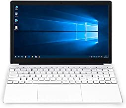 XINYANGCH 2020 15.6-inch ultra-thin laptop 8G + 128G Intel Celeron J3455 high-performance quad-core CPU, buttons with back...