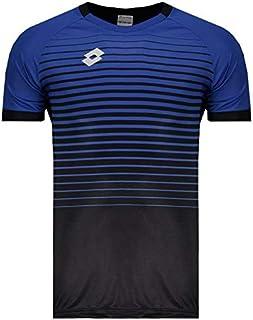 Camisa Lotto Aspen 2.0 Preta e Azul