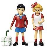 Micki & Friends 44379400 Pippi Langstrumpf Spielfiguren - Puppen - Puppenhaus-Zubehör - 2-teilig:...