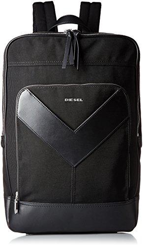ブラック メンズ バックパック MR. V ZIPPER MR. V-BACK - backpack X04213PR520 T8013 UNI