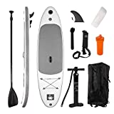 YOUKE Stand Up Paddle Gonflable 280x78x15cm (Ép), Pompe Haute Pression,...
