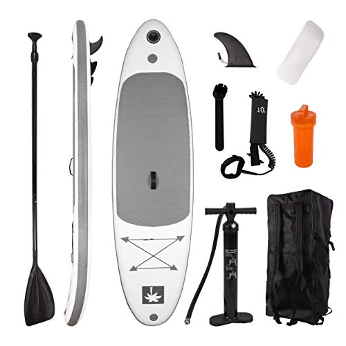 YOUKE Stand Up Paddle Gonflable 280x78x15cm (Ép), Pompe Haute...
