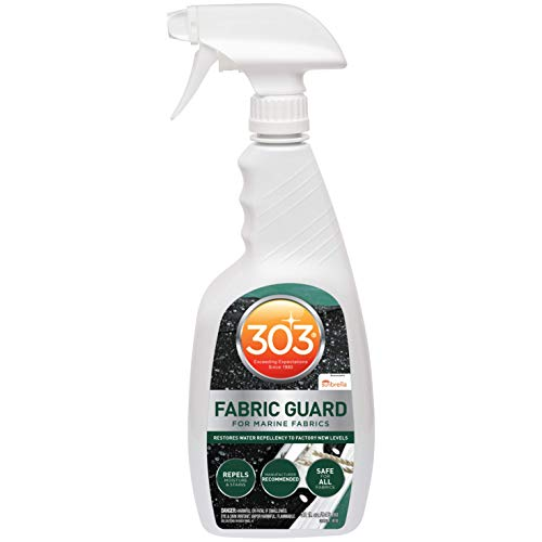 303 Products (30604CSR-6PK) Marine Fabric Guard - For Marine Fabrics - Restores Lost Water Repellency To Factory New Levels - Repels Moisture And Stains, 32 fl. oz. 6 Pack (30604-6PKCSR)