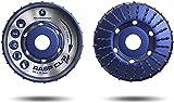 Disco de corte FALKENWALD® para amoladora angular de madera, 120 mm de diámetro x 22,2 mm, de alta calidad, para lijar rápida y gruesa